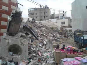 Schuhverkauf in Gaza